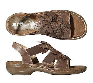 Sandale Leder