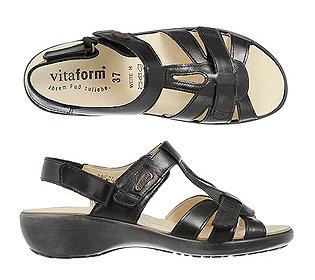 Sandalette echt Leder