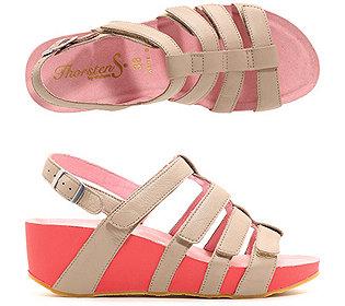 Sandalette Nappaleder