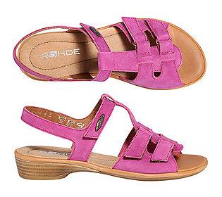 Sandale Nubukleder