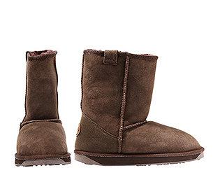 Damen-Boots Leder