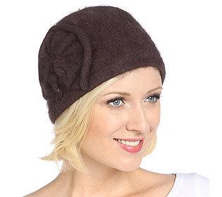 Damen-Mütze Rosette
