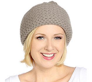 Damenmütze Grobstrick