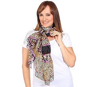 Damen-Schal Seide