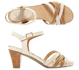 Riemchen-Sandalette Leder