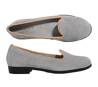 Damen-Slipper Softnubuk