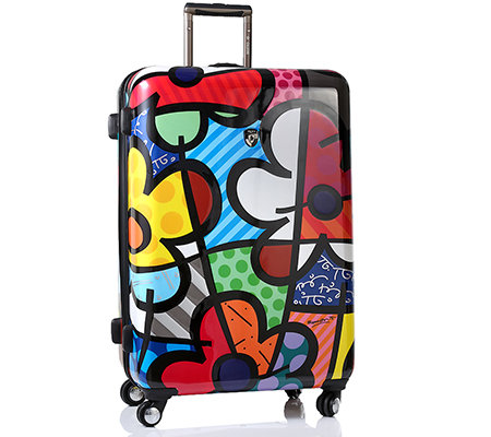 HEYS USA Britto Collection Trolley, 4 Rollen Polycarbonat ca. 76x51x29cm