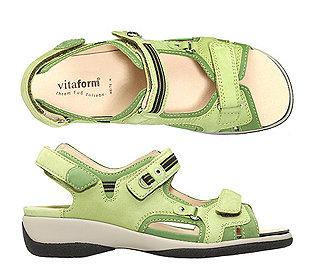 Sandalette Softnubuk