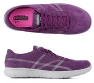 SKECHERS Damensneaker On-the GO Veloursleder Goa Mat