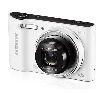 SAMSUNG 16MP Digitalkamera 10x opt./5xdig.Zoom 24mm Weitwinkel Tasche, 4GB Karte