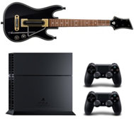 SONY Playstation 4 1TB, 2 Controller Guitar Hero Live mit Gitarre