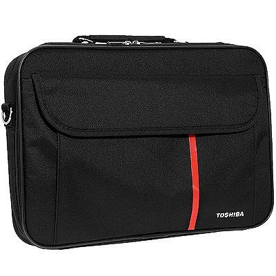 TOSHIBA Notebooktasche gepolstertes Fach für Notebooks bis zu 43,9cm