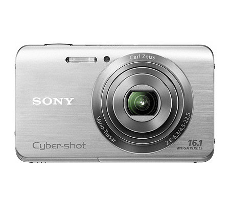 SONY 16MP Digitalkamera 5xopt./20xdig.Zoom 25mm Weitwinkel Tasche, 4GB Karte