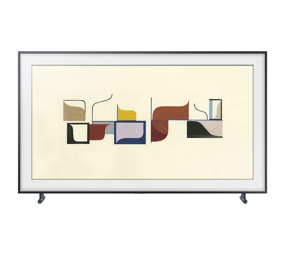 SAMSUNG THE FRAME 138cm UHD LED TV Bilderrahmendesign Inkl. Kunst Modus Und  Wandhalterung