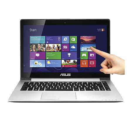 ASUS 35,6cm Ultrabook 500GB/24GB SSD Cache 4GB RAM,Bluetooth 4.0 Touchscreen Di splay