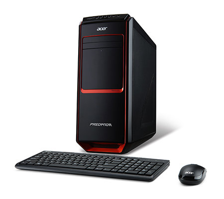 ACER Gaming Desktop PC Core i7, 1,5GB Grafik 2000GB, 12GB RAM Tastatur, Maus