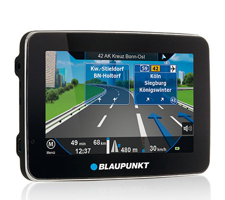 BLAUPUNKT 12,8cm Touch-Display Zentraleuropa-Karten Lifetime-Map-Update 3 Jahre Garantie
