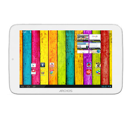 ARCHOS 17,8cm Tablet PC IPS-Display,Dual Core 8GB, WLAN, Bluetooth Aluminiumgehäuse