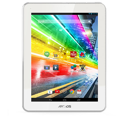 ARCHOS 20,3cm Tablet PC HD IPS-Display, 8GB Quad-Core, WLAN Origami Tasche
