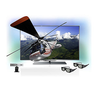 LED-TV 3-D 102 cm EEK A