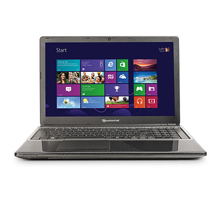 PACKARD BELL 39,6cm Notebook Dual-Core Prozessor 320GB, 2GB RAM HDMI, USB, Webcam
