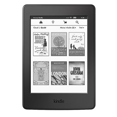 AMAZON KINDLE Paperwhite E-Book Reader 15cm Display inkl. Schutzhülle