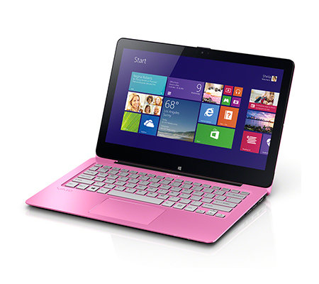 SONY 29,6cm Notebook- & Tablet-Kombination 29,4cm Touchdisplay Bluetooth, NFC, HDMI