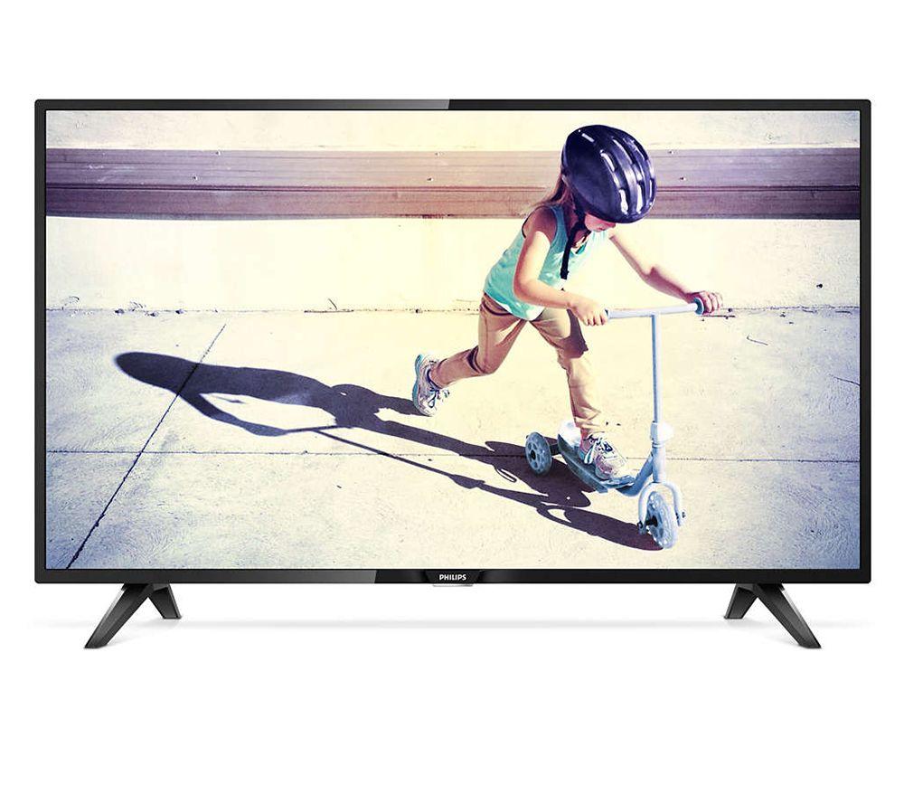 Schön PHILIPS 98cm LED TV 3fach Tuner Digital Crystal Clear USB Wiedergabe    467982