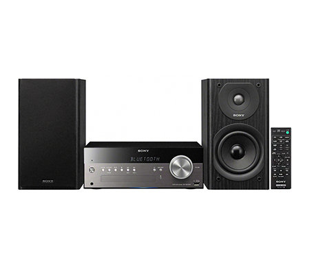 SONY Micro HiFi System USB- & CD Wiedergabe DAB+, WLAN, Airplay Bluetooth, NFC, 100W