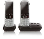 GIGASET DECT-Telefon Anrufbeantworter 2 Mobilteile Made in Germany