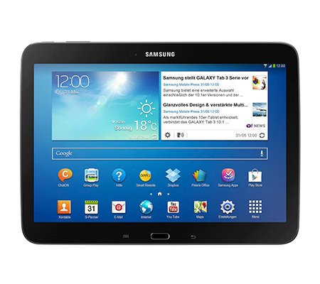 SAMSUNG Galaxy Tab 3 25,7cm Tablet-PC HD-Display, Bluetooth 16GB Speicher, WiFi