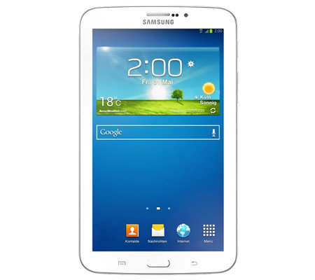 SAMSUNG Galaxy Tab 3 17,8cm Tablet-PC Bluetooth, WiFi Anleitungs-DVD