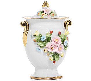 Schmuck-Dose Blumenverzie