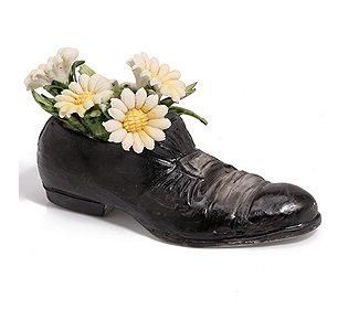 Schuh mit Gänseblümchen l