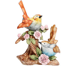 Vögel auf Ästen