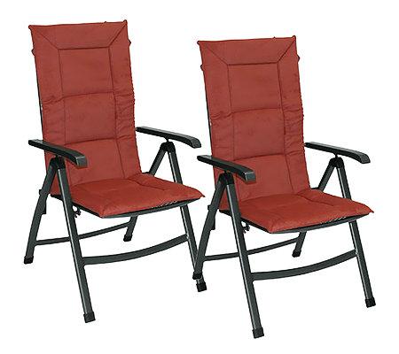 greemotion sitzauflagen f r klappsessel teflonbeschichtet. Black Bedroom Furniture Sets. Home Design Ideas