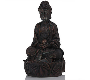 Solar-Buddha 25 cm