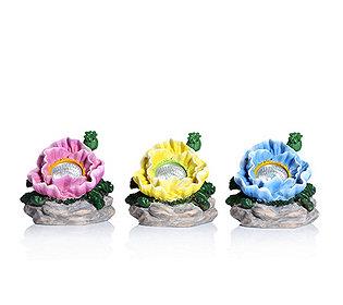 3 Solar-Blüten 14 cm