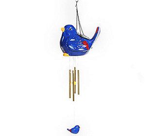 Solar-Windspiel Vogel