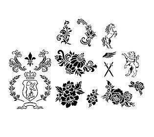 Textil-Design 9tlg.