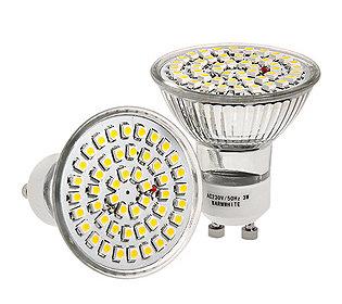 2 LED-Strahler 3,5 W