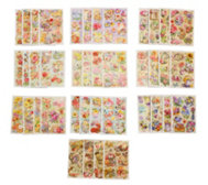 KARIN JITTENMEIER Sticker-Set 3D-Stickerbogen versch. Designs 40tlg.