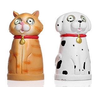 Solar-Hund & -Katze