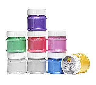 Farben & Pinsel 9tlg.