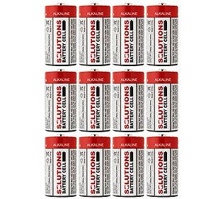 12 Batterien C 1,5V