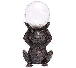 Solardekoration Frosch