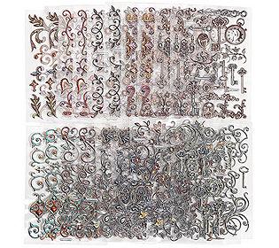 Metallic-Sticker 20tlg.