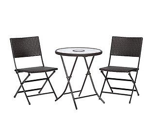 Solar-Tisch & 2 Stühle
