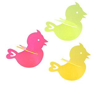 3 Sonnenfänger Vögel