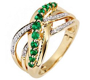 Ring 11 Smaragde